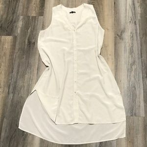 Eileen Fisher Silk Button Down Dress